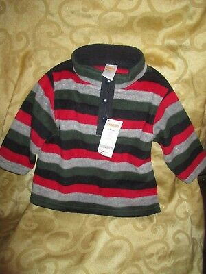 Gymboree Boys Fleece Pullover Shirt 12-24 Mos- New- Snow Chillin