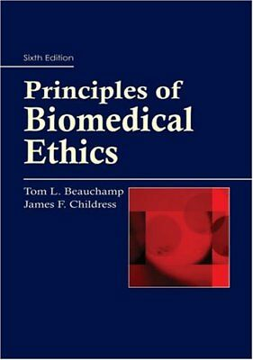 Principles Of Biomedical Ethics by Beauchamp