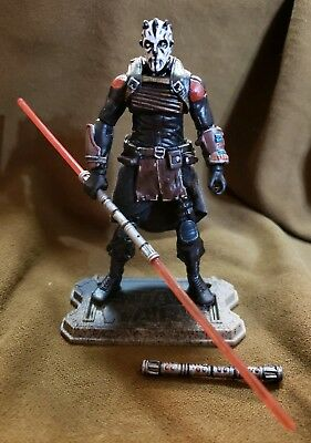 Star Wars Custom Clone Wars Zabrak Dark Acolyte Of The Sithror