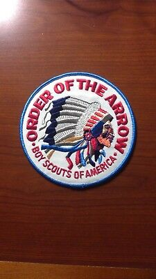 LARGE MINT Older Boy Scout Order Of The Arrow (OA) Jacket Patch