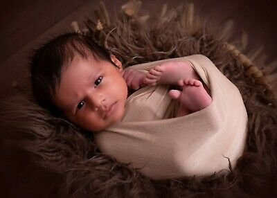 x5! Baby Prop Newborn Photography Prop Stretch Wrap Studio Props Swaddle