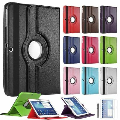 """360 Leather Stand Flip Cover Case For Samsung Galaxy Tab S3 9.7"""" Inch T820 T825"""