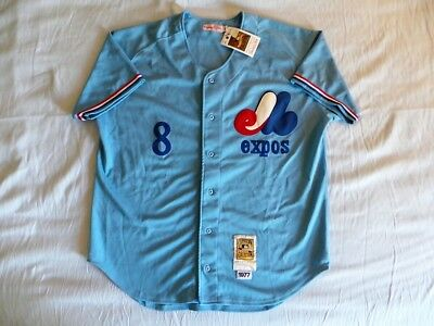 ead42706 Mitchell Ness M&N Montreal Expos Gary Carter Authentic jersey 48 XL NWT NEW  USA