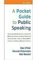 Pocket Guide To Public Speaking by O'Hair