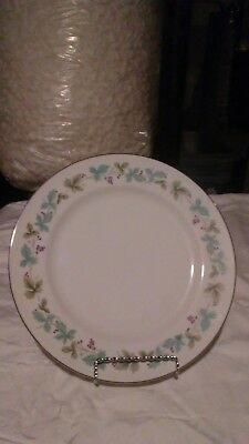 """SET OF 8  VINTAGE Fine China of Japan #6701 6-1/2"""" BREAD AND BUTTER PLATES EUC"""