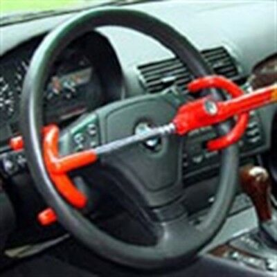 "Steering wheel Hook Lock ""4 Times Stronger"" Rated Top Device"""
