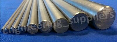 Bright Mild Steel Metal Rod/Bar 4, 5, 6, 8, 10, 12mm Dia, 100 - 600mm long
