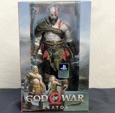 "GOD OF WAR Figure KRATOS 7"" for Play Station LEVIATHAN AXE PS NECA ATREUS 2018"