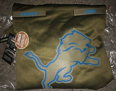 61a3cfc0f DETROIT LIONS Salute to Service Therma Fit Hoodie 2018 Nike Military STS