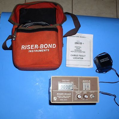 Riser-Bond Model 2901B+ cable fault locator