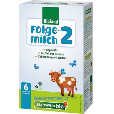 16-BOXES Holle Lebenswert Stage -2 Organic Formula 500g FREE SHIPPING EXP 8/2020