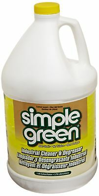 Simple Green 73434010 14010 Industrial Cleaner & Degreaser, Concentrated, Lem...