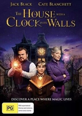 The House With A Clock In Its Walls Dvd New & Sealed- Free Postage! Region 4