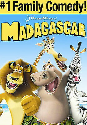 Madagascar (Full Screen Edition) AMAZING DVD IN PERFECT CONDITION!DISC AND ORIGI