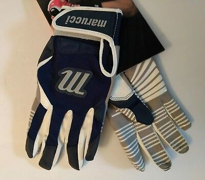 Marucci Youth Venture Batting Gloves Navy Blue Small New