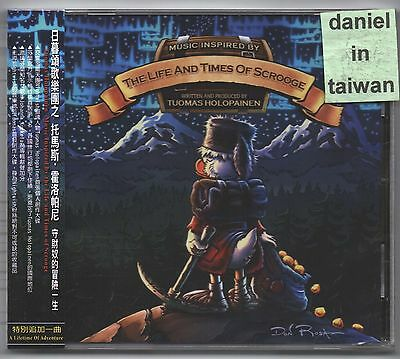 Tuomas Holopainen: The Life and Times of Scrooge (2014) CD OBI TAIWAN