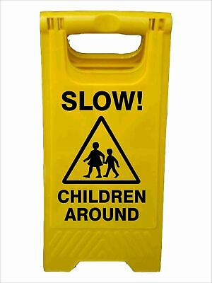 A-Frame Signs -  SLOW CHILDREN AROUND A-FRAME SIGN
