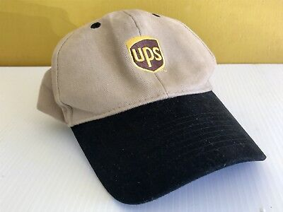 United Parcel Service Ups Brown Baseball Cap Hat Logo Embroidered Strapback 64a3e28bcea4