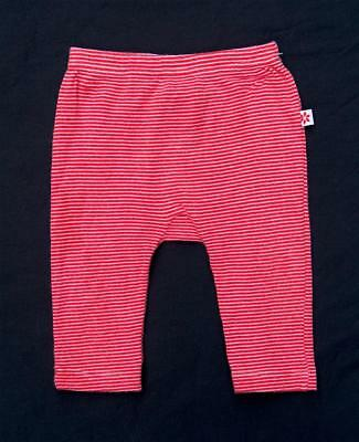 MARQUISE baby pants leggings bottoms red / white stripe unisex boys / girls bubs