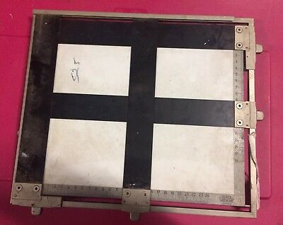 LEITZ WETZLAR Enlarger Easel / Table  Photo Darkroom Photography Developing