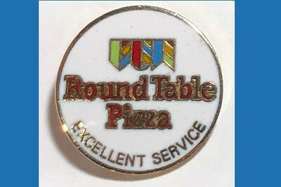 Round Table PIZZA -Excellent Service - Logo Pin