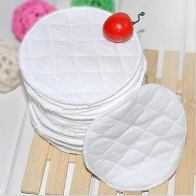Waterproof 20Pcs Organic Washable Pads Bamboo Reusable Breast Pads Nursing HR5
