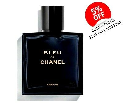 Bleu De Chanel Newest Fragrance 2018 Parfum Men's Spray 100ml Brand New Sealed