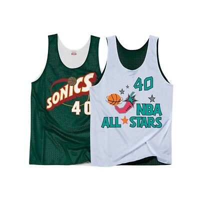 Shawn Kemp Mitchell   Ness Men s 1996 All Star Reversible Practice Jersey 19c958438