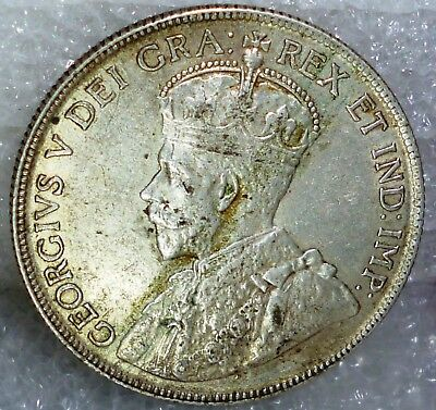 1917 CANADA FIFTY CENTS (50 cents)