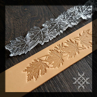 #1A LeatherCraft Stamp Set Embossing Die Vegetable Tannned Tooling Leather