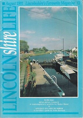 LINCOLNSHIRE LIFE Aug 1991 - features Segelocvm, the Roman ford across the Trent