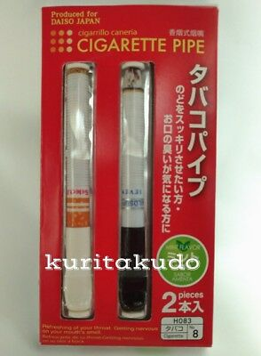 【Sale】Dummy/Fake Plastic Cigarette(Lemon/Mint)Quit/Stop Smoking Aid F/S shipping