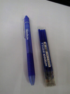 Penna REPEAT  Cancellabile Ricaricabile Blu + Refil 3 pz. Blu
