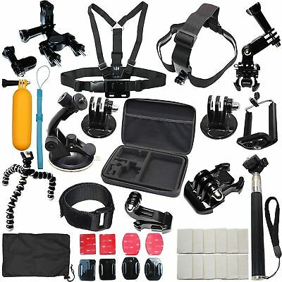 Accessories Kit for Gopro Hero 7 Black 6 5 Session Selfie Stick Pole Tripod Case