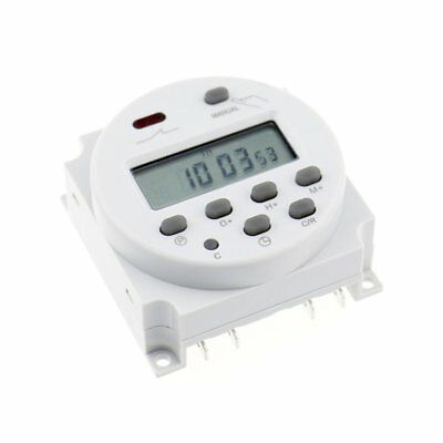 CN101A DC12V LCD Digital Electronic Programmable Timer Time Relay Switch LCU