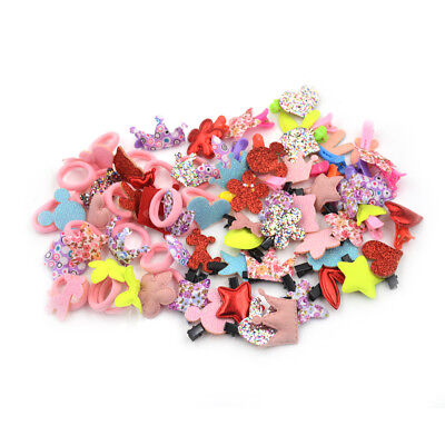 20Pcs/bag Baby Children Accessories Hairpins Hair Clips Girl's Cute Headwear EP