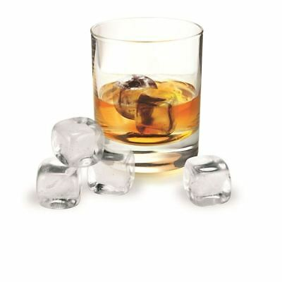 Avanti - Whisky Rocks Crystal Set of 6 in Velvet Storage Pouch