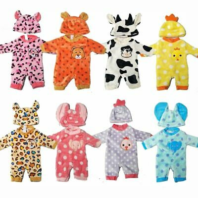Doll Outfit Clothes for 35 cm 14 inch Baby Doll Born Cute Animal Clothes