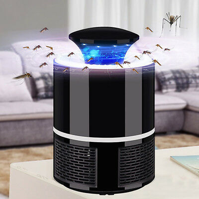 Mosquito Insect Killer Electric Led Light Fly Bug Zapper Trap Catcher Lamp USB