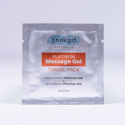 Nuru Gel - Platinum Massage Gel - Makes up to 500ml thick gel - MADE IN JAPAN