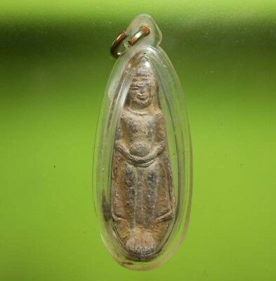 Perfect! Old Thai Buddha Amulet Phraruoang Hot Pendant
