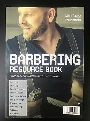 Barbering Resource Book Mike Taylor Education How To Cut Hair Techniques Guides