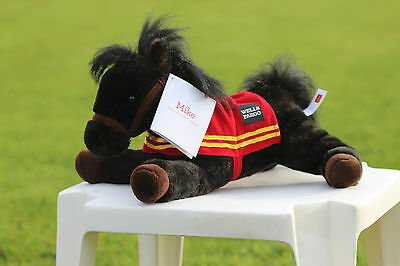 New Collectible 2016 Wells Fargo Legendary Toy Plush Stagecoach Pony Horse Mike