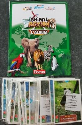 Kinder, Ferrero, Animal Action l´Album, complete with all cards
