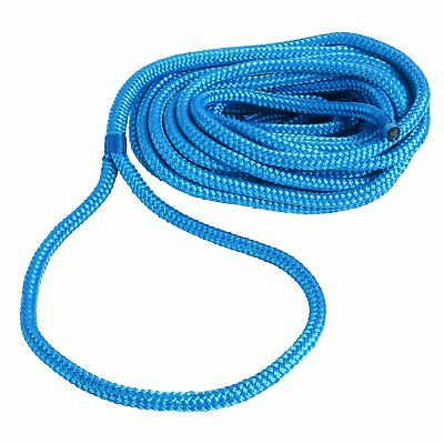 "1//2/""25Ft Double Braid Nylon Mooring Rope Boat Dockline Anchor Line Climbing Rope"