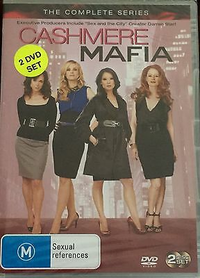 Cashmere Mafia: The Complete Series (DVD, 2008, 2-Disc Set)  BRAND NEW & SEALED