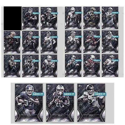 18-19 DIAMOND SILVER BASE SERIES 2 COMPLETE SET OF 20 Topps Huddle Digital Card
