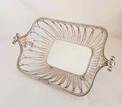 A George lll Old Sheffield Plate wirework fruit / bread basket. Circa 1800's