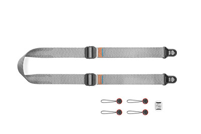 Peak Design SLL-AS-3 Slide Lite, Mirrorless Camera Strap, Ash