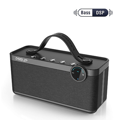 Udison BlueTooth 4.2 Speaker 6W Stereo Enhanced Bass Dual Driver IP65 12 hrs IDR